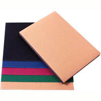 QUILL FLUTE BOARD 280GSM A4 5 ASSORTED COLOURS PACK 25