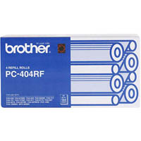 BROTHER PC-404RF FAX REFILL ROLL PACK 4