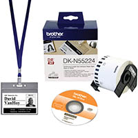 BROTHER VM-100 VISITOR BADGE AND MANAGEMENT SOFTWARE