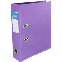 BANTEX LEVER ARCH FILE 70MM A4 LILAC