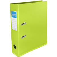 BANTEX FRUIT LEVER ARCH FILE 70MM A4 LIME