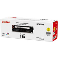 CANON CART318Y TONER CARTRIDGE YELLOW