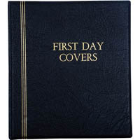 CUMBERLAND FIRST DAY COVER ALBUM 3O RING PVC 26MM ASSORTED