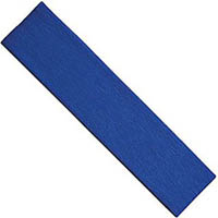 CUMBERLAND CREPE PAPER 2400 X 500MM ROYAL BLUE