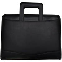 FALCON DROP HANDLE CONFERENCE FOLDER BLACK