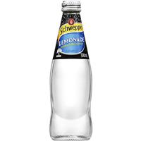 SCHWEPPES LEMONADE BOTTLE 300ML CARTON 24