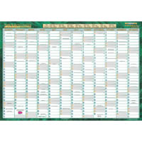 DEBDEN QC2 2020 RECYCLED EXECUTIVE YEAR PLANNER LAMINATED