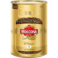 MOCCONA CLASSIC INSTANT COFFEE MEDIUM ROAST 500G CAN
