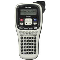 BROTHER PT-H105 P-TOUCH LABEL MACHINE SILVER/BLACK