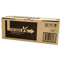 KYOCERA TK584B TONER CARTRIDGE BLACK
