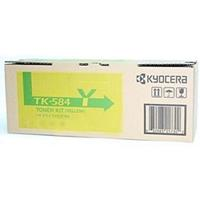 KYOCERA TK584Y TONER CARTRIDGE YELLOW