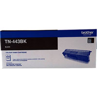 BROTHER TN-443 LASER TONER CARTRIDGE HIGH YIELD BLACK