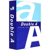 DOUBLE A SMOOTHER A5 COPY PAPER 80GSM WHITE 500 SHEETS