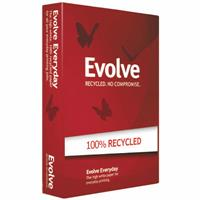 EVOLVE A4 100% RECYCLED COPY PAPER 80GSM WHITE PACK 500 SHEETS