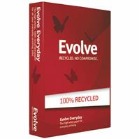 EVOLVE A3 100% RECYCLED COPY PAPER 80GSM WHITE PACK 500 SHEETS