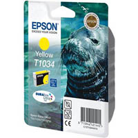 EPSON T1034 INK CARTRIDGE HIGH YIELD YELLOW