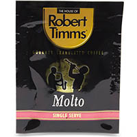ROBERT TIMMS COFFEE MOLTO GOURMET GRANULATED PACK 1000