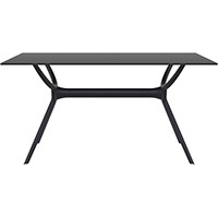 SIESTA AIR TABLE 1400 X 800MM BLACK