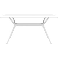 SIESTA AIR TABLE 1400 X 800MM WHITE