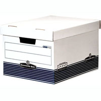 FELLOWES 713 EXTRA STRENGTH BANKERS ARCHIVE BOX HINGED LID