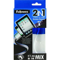 FELLOWES SCREEN CLEANER 2 IN 1 125ML