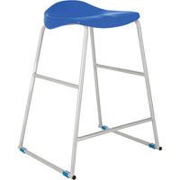 TRACT STOOL 650MM HIGH BLUE