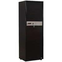 RAPIDLINE 10 GUN SAFE WITH KEY LOCK 1475 X 500 X 405MM BLACK RIPPLE