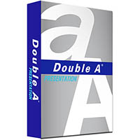 DOUBLE A A3 PRESENTATION COPY PAPER 100GSM WHITE 500 SHEETS