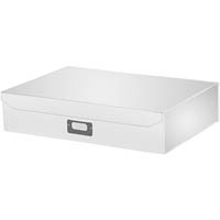 ITALPLAST EAZIFOLD DOCUMENT BOX A3 WHITE