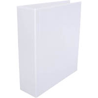 CUMBERLAND EARTHCARE INSERT LEVER ARCH BINDER A4 65MM WHITE