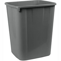 ITALPLAST TIDY BIN 32 LITRE SPACE GREY