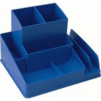 ITALPLAST DESK ORGANISER BLUEBERRY