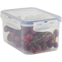 ITALPLAST AIR LOCK FOOD CONTAINER 1600ML CLEAR