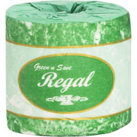 REGAL GREEN N SAVE 2 PLY TOILET TISSUE 400 SHEETS ROLL