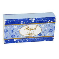 REGAL GOLD TAD ULTRASLIM HAND TOWELS INTERLEAVED PAPER SHEETS PACK 150