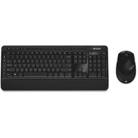MICROSOFT 3050 WIRELESS DESKTOP KEYBOARD AND MOUSE BLACK