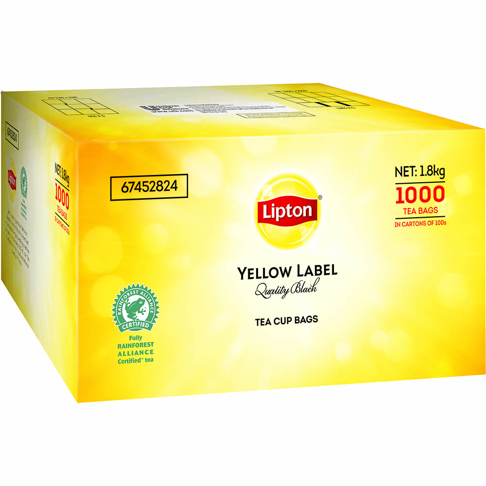 Image for LIPTON TEABAGS WITH TAG AND STRING BOX 1000 from Global Office Products