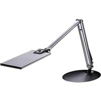 ERGO-LIFE ULTRA THIN LED TASK LIGHT SILVER