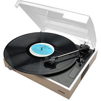 MBEAT WOODEN STYLE USB TURNTABLE RECORDER