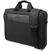 EVERKI ADVANCE COMPACT BRIEFCASE 16 INCH BLACK