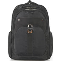 EVERKI ATLAS CHECKPOINT FRIENDLY LAPTOP BACKPACK 17.3 INCH BLACK