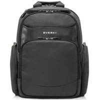 EVERKI SUITE PREMIUM COMPACT CHECKPOINT FRIENDLY LAPTOP BACKPACK 14 INCH BLACK