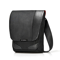 EVERKI VENUE RFID MINI MESSENGER BAG BLACK
