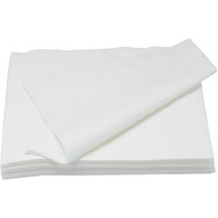 PARTY LUNCH NAPKINS 300 X 300MM WHITE PACK 200
