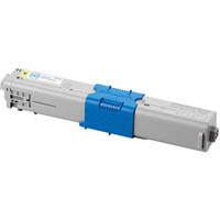 OKI C301 TONER CARTRIDGE YELLOW