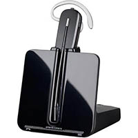 PLANTRONICS CS540 HEADSET WIRELESS MONAURAL ULTRA NOISE-CANCELING BLACK