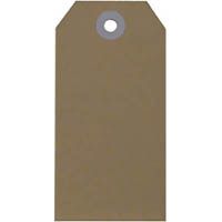 ESSELTE SHIPPING TAGS NO.3 48 X 96MM BUFF BOX 1000