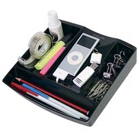 ESSELTE NOUVEAU PENCIL CADDY BLACK