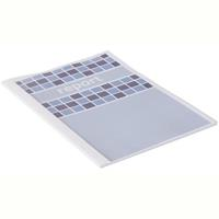 GBC THERMAL BINDING COVER 4.0MM WHITE PACK 100