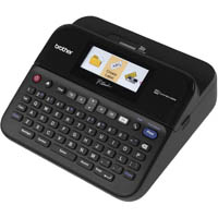 BROTHER P-TOUCH PTD600 LABEL PRINTER WITH COLOUR DISPLAY